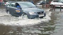 Downpours trigger flash flooding to parts of Scotland