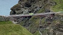 Jumping test for £4m Tintagel bridge raises eyebrows