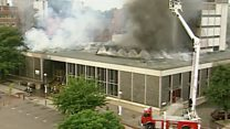 Norwich Central Library fire 25 years on