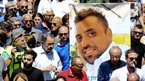 The story behind Italian policeman's killing