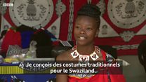 L'adolescente qui crée les tenues traditionnels d'Eswatini