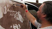 'Why I turn white vans into muddy masterpieces'