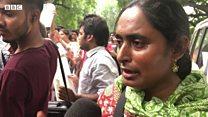 Article 370 ख़त्म करने के सरकार के प्रस्ताव के विरोध में उतरे लोग