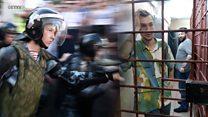 Допросы, съемки сериала и ДНК-анализы. Что происходит с арестованными участниками митинга в спецприемниках