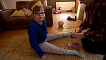 Down's syndrome girl 'denied walking frame'