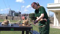Female ropemaker: 'I absolutely love my job'
