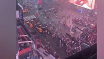 Times Square panic over 'gunfire' false alarm