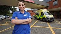 Casualty actor becomes A&E nurse in real life