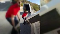Що сталося з іспанцем, який скинув холодильник в яр?