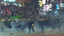 ဟောင်ကောင် ဆန္ဒပြသူတွေကို တရုတ်သတိပေး