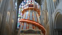 Helter-skelter 'first' for UK cathedral