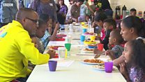 Feeding families during the school holidays