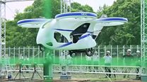Japan's flying car takes to the air and other news