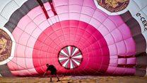 Hot air balloon MOT
