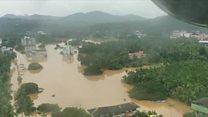 केरल में बाढ़ ने मचाई तबाही