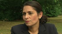 'Stop and search works' - Priti Patel