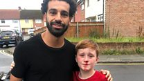 'It was worth busting my nose to meet Mo Salah'