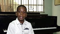 Nigeria's 11-year-old piano prodigy