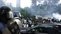 हांगकांग में अशांति जारी