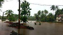 عشرات القتلى وآلاف النازحين بالهند بسبب الفيضان