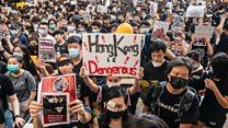 ဟောင်ကောင်မှာ ဆန္ဒပြပွဲတွေကြောင့် လေယာဉ်ခရီးစဉ်တွေ ဖျက်သိမ်း