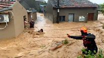 "Тайфун ""Лекима"" в Китае: более 40 погибших"