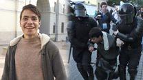 Рассказ блогера с инвалидностью, которого задержали после митинга 10 августа