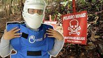 Жена која ризикује живот да би деактивирала нагазне мине