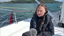 نوجوان فعال محیط زیست با قایق از اروپا به نیویورک میرود