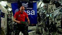 अन्तरिक्षयात्री बने डीजे
