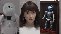 मानिस जस्तै काम गर्ने जापानी रोबोटहरू