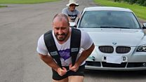 BMW pulled over marathon for transplant charity
