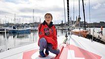 Грета Тунбер плови преко Атлантика за спас планете