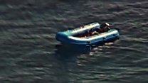 Dramatic rescue in the Mediterranean