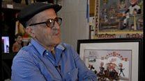 کورش سلیمانی  کاریکاتوریست است و اهل اراک،  و از خانواده ای یهودی. سالهاست ساکن آتلانتای آ