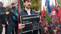 """""""А Крупская тоже за кандидатов?"""": шестая неделя протестов в Москве за три минуты"""