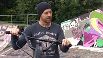 BMX star reunited with his childhood social worker