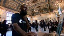 Beyoncé choreographer mentoring young dancers