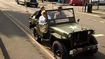 D-Day veteran honoured with Jeep