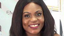 Vicky Nwogu sị na Alex Ekubo masịrị ya