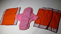 'Namibian girls can't afford sanitary pads'
