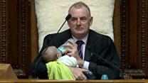 В парламент с ребенком