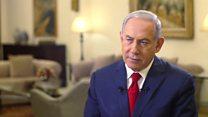 نتانیاهو:هرکجا در خاورمیانه که لازم باشد به مواضع ایران حمله میکنیم