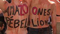 Worldwide Amazon protests