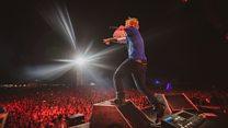 Ed Sheeran fans celebrate first Ipswich gig