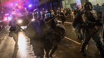 Shot fired by police in tense Hong Kong protests