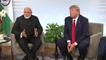 कश्मीर पर नरेंद्र मोदी और डोनल्ड ट्रंप ने जी 7 समिट में क्या कहा?