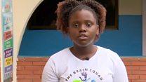 'Our app helps children go to school'