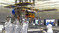 Engineers in UK complete Mars rover