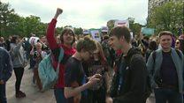 جوانان موتور محرک اعتراضهای ضد دولتی در روسیه